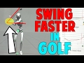 How to Swing Faster in Golf (3D Lag Drill)
