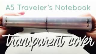 A5 Traveler's Notebook Transparent Cover