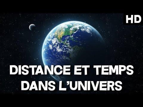 DISTANCE ET TEMPS DANS L'UNIVERS ; BALADE COSMIQUE - Documentaire de l'univers (HD)