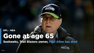 Paul Allen, Seahawks + Trail Blazers owner, Has Died at 65 | Yahoo Sports thumbnail