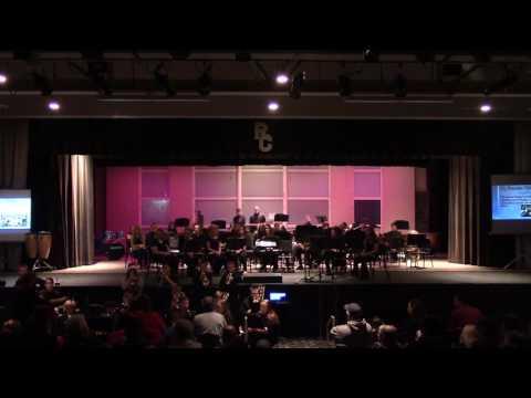 Rock Creek High School Jazz Band Winter Concert 2016