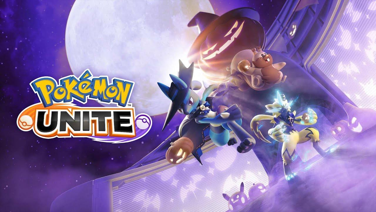 Download The Pokémon UNITE Halloween Festival begins on 10/20!