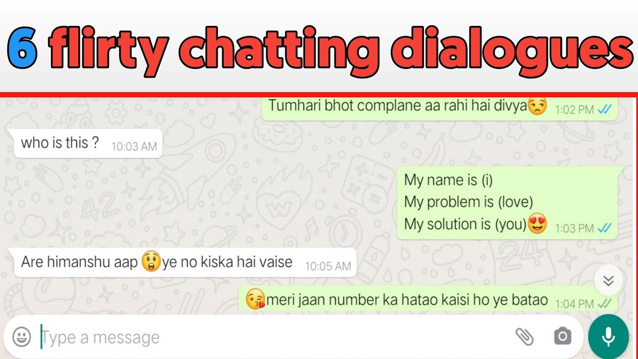 Chat whatsapp flirt 45 Themen