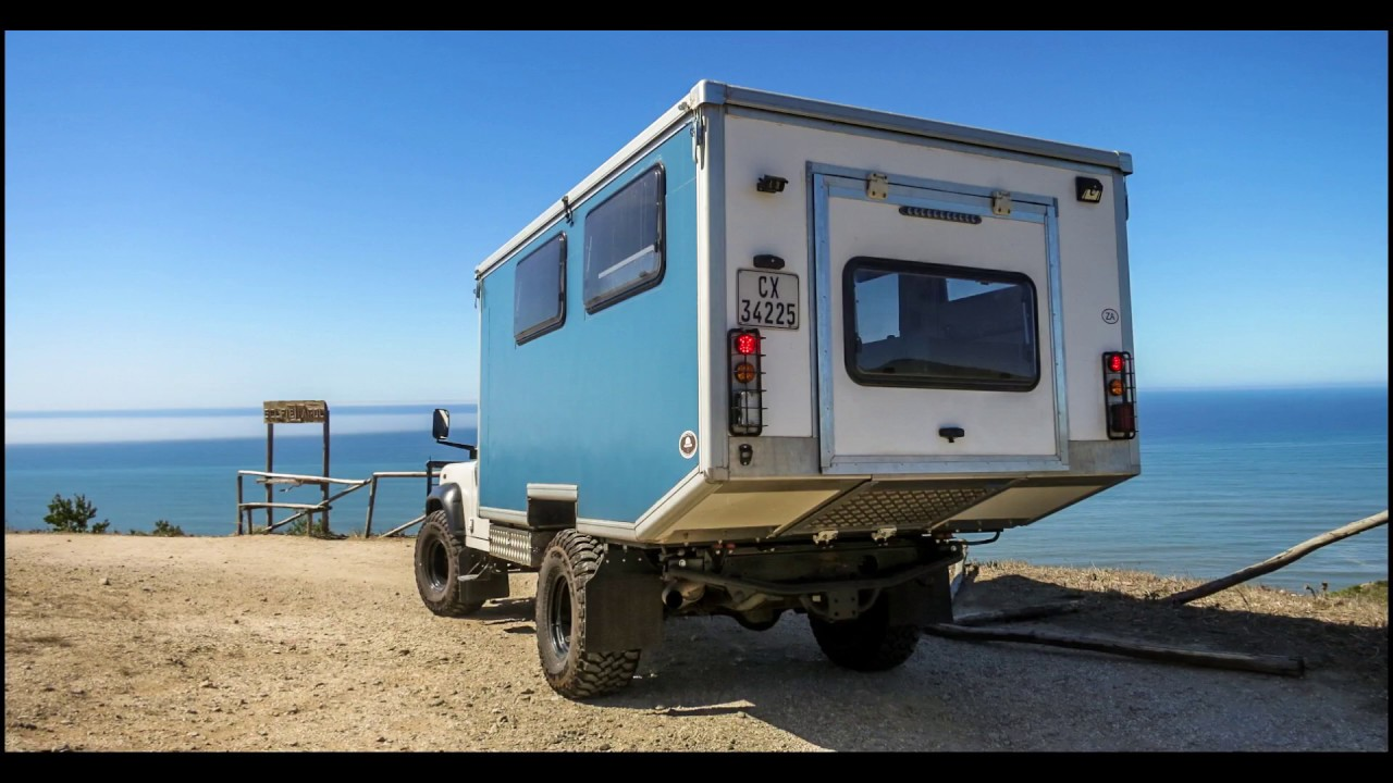 Conversion Van Camping >> Land Rover Defender 130 Camper Conversion - Start to Finish! - YouTube