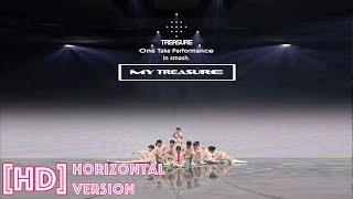 Download Horizontal Ver.   [HD] MY TREASURE - TREASURE (Japan Ver.) One Take Performance on smash app