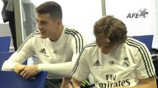 FIFA FIFPro World XI 2015. Votación Real Madrid CF