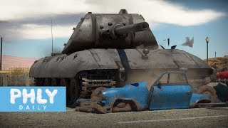 150 Ton German Super Heavy Tank | E-100 ( War Thunder)