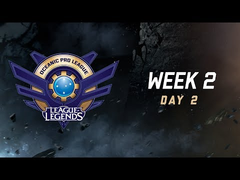Thumbnail: OPL Split 2 2017 - Week 2 Day 2: CHF vs. AE | SIN vs. TM