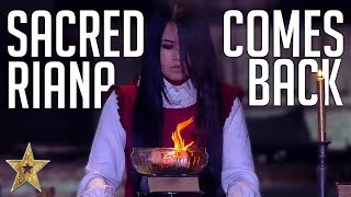 THE SACRED RIANA TERRIFIES Everyone On BGT: The Champions 2019! | Got Talent Global