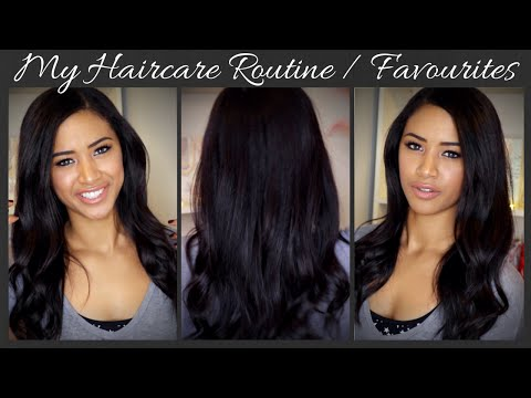 MY HAIRCARE ROUTINE / 2015 HAIRCARE FAVOURITES ♡