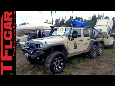Six-Wheel-Drive Jeep Wrangler: When a Rubicon is just not ...