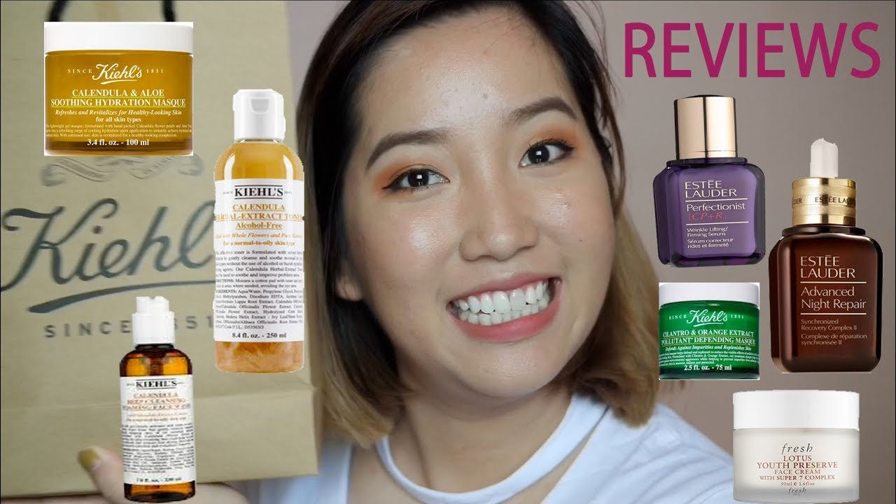 #PELAMGI – REVIEW VỀ KIEHL'S, ESTEE LAUDER, FRESH, VICHY, THE BODY SHOP.