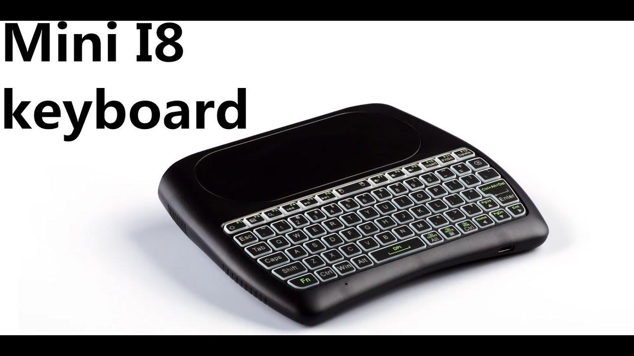 8e77c1153f9 Mini I8 wireless keyboard MX3 Air Mouse - YouTube