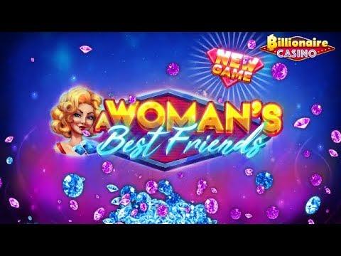 Billionaire Casino - Woman's Best Friends Landscape EN