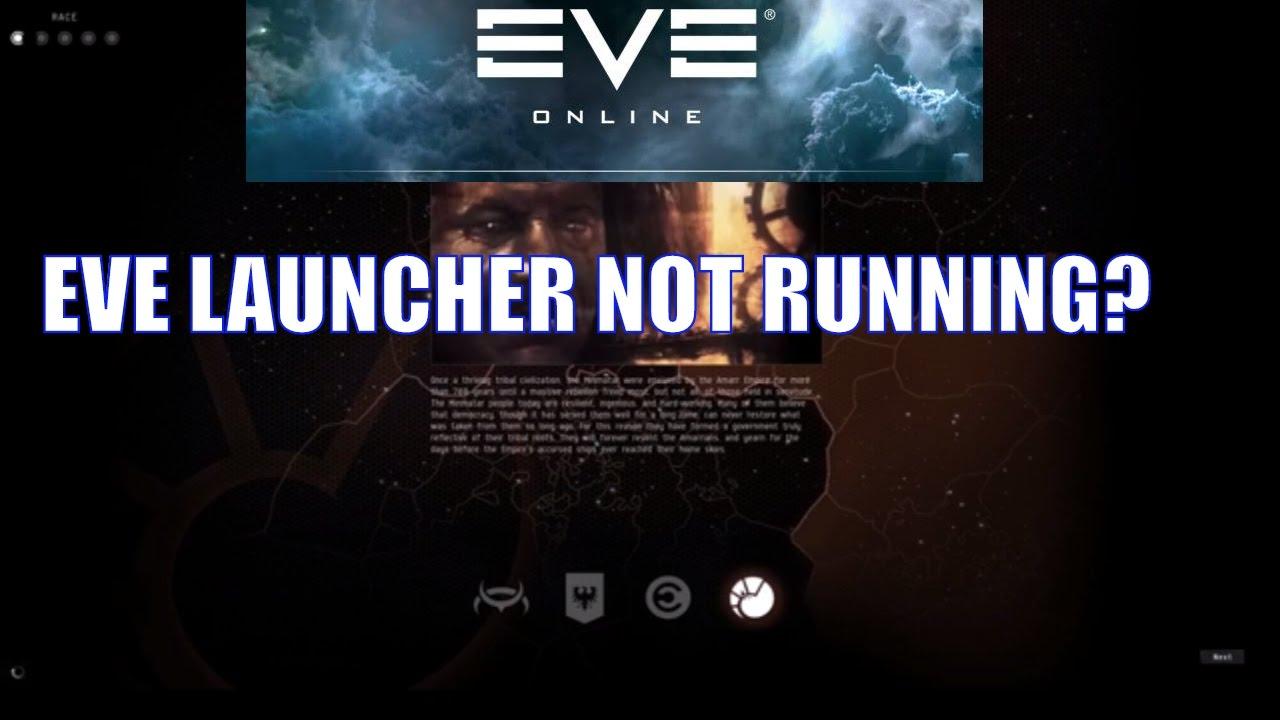 Eve online launcher problems