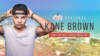 CCMF Presents - Kane Brown @ CCMF 2018