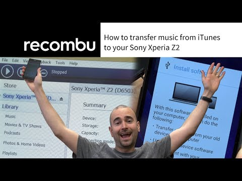 How to transfer music from iTunes to the Sony Xperia Z2