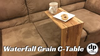 Waterfall Table | Build a Waterfall Grain C-Table | Woodworking