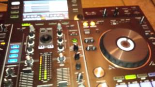 Pioneer xdj-rx with lan cable using recordbox