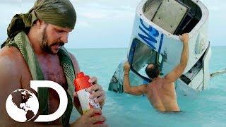 Joe e Matt tentam sobreviver no Triângulo das Bermudas | Desafio em dose dupla | Discovery Brasil