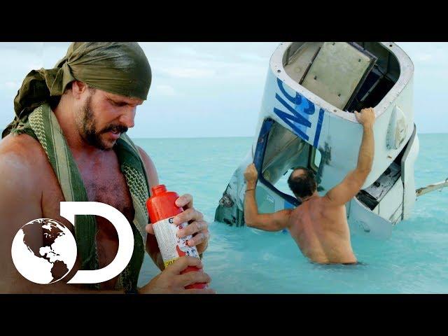 Joe e Matt tentam sobreviver no Triângulo das Bermudas   Desafio em dose dupla   Discovery Brasil