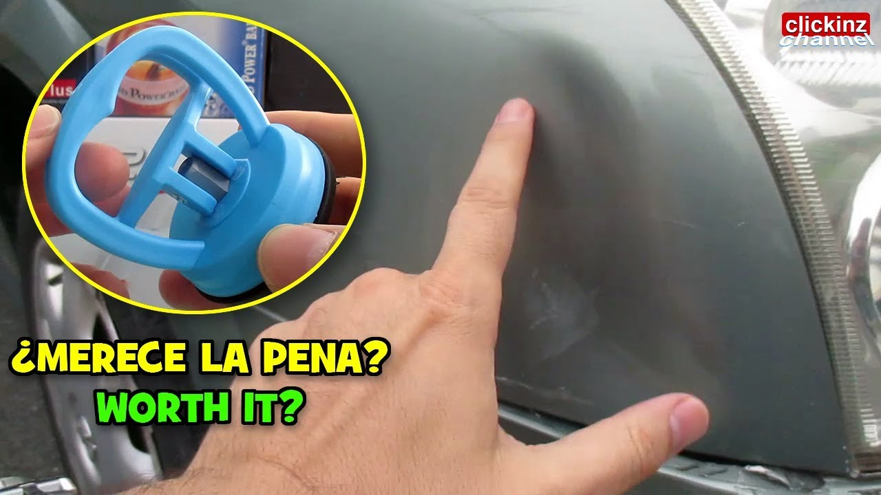 Test Sacabollos Extractor Abolladura De Coche Ventosa Repara Golpe Car Dent Suction Cup 2020 Youtube