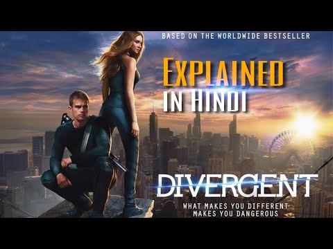 Divergent (2014) Movie Explanation In Hindi | Sci-fi Hollywood Movie In Hindi | NS Films.