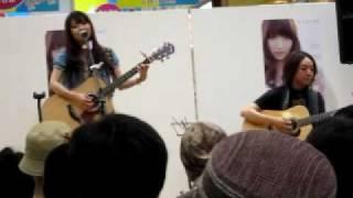 2010.6.12 イオン千種店でのライブ.