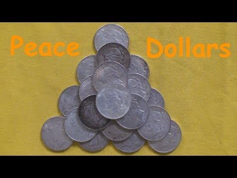 Silver Stacking: Silver Peace Dollar