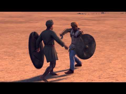 Epic Duel - African Warrior vs Nabataean , Rome 2: Total War