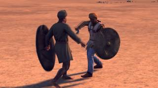 Epic Duel - African Warrior vs Nabataean , Rome 2: Total War