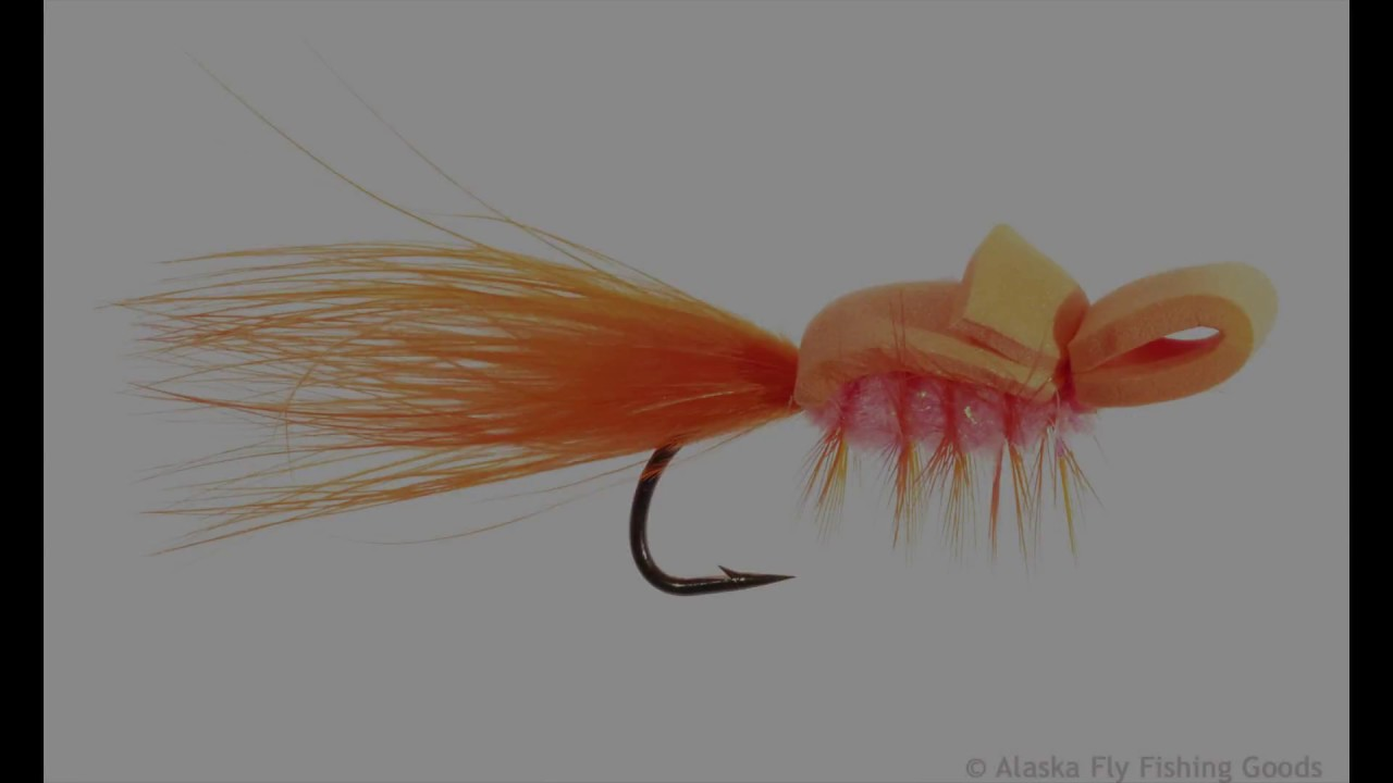 How to tie the alaskan gurgler youtube for Alaska fly fishing goods