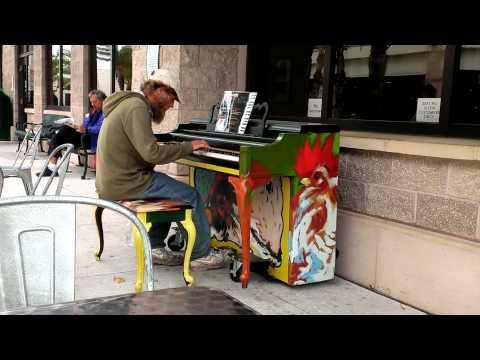 Sarasota's Homeless Piano Man Donald Gould