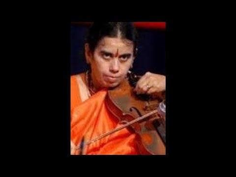 A Kanyakumari- Violin-Vatapi Ganapatim-Hamsadhwani-Adi-Dikshitar