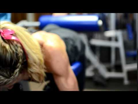 Jill Bunny works out 7 weeks before IFBB North Americans - Female Fitness Motivation