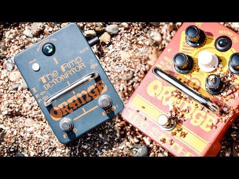 Orange Two Stroke (Boost) & Amp Detonator (Switch) - Review