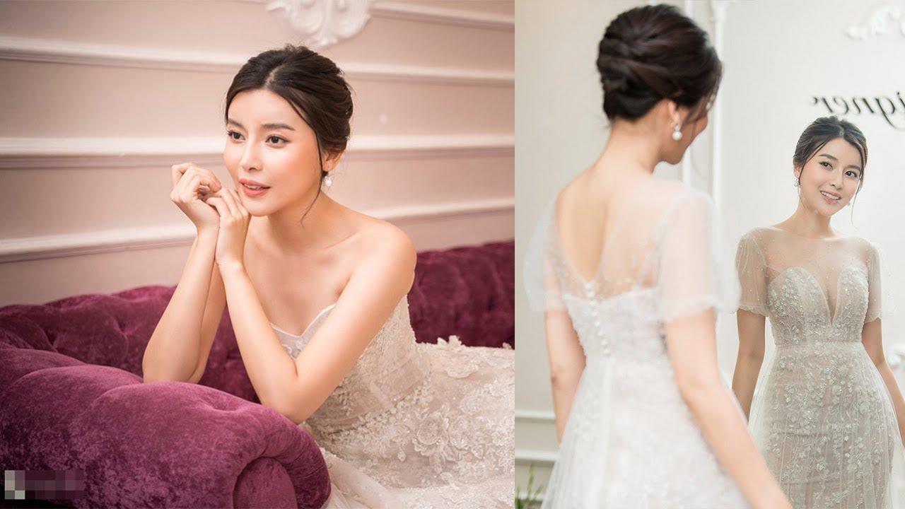 Cao Thái Hà KHOE DÁNG với váy cúp ngực ở hậu trường