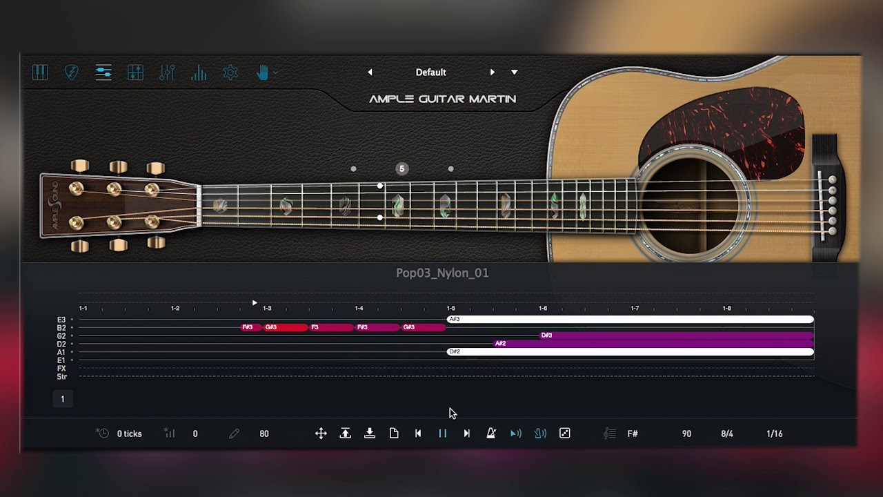 Ample Guitar Martin III by Ample Sound \\ Exploring The Sounds