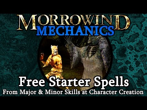 Free Starter Spells - Morrowind Mechanics