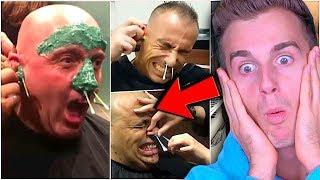 Hilarious Men Regretting Facial Waxing!