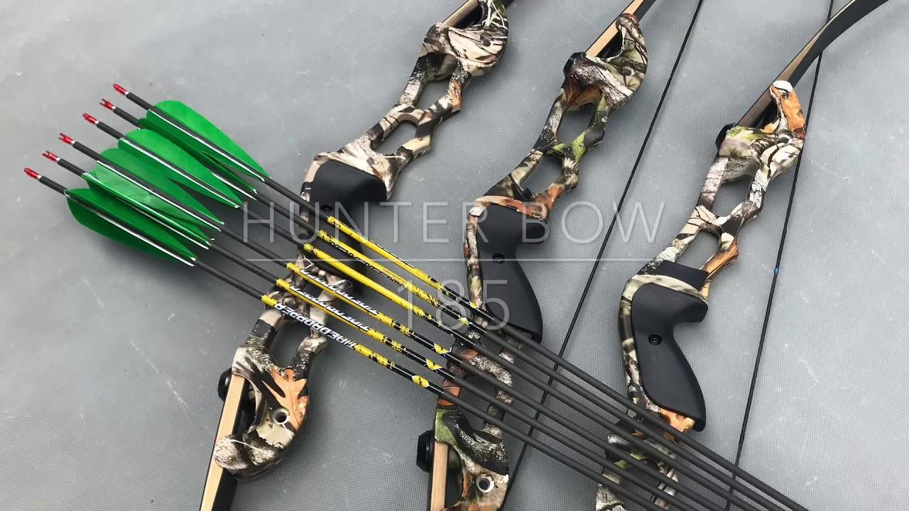 Bắn cung thể thao: Test thử Hunter Bow 185