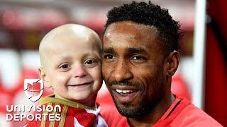 La conmovedora historia de amistad entre Jermain Defoe y Bradley, el niño que murió de cáncer
