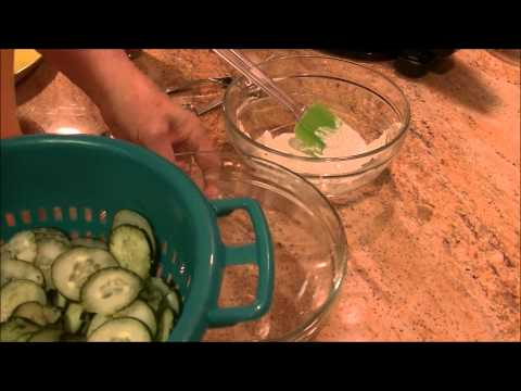 Cucumbers With Sour Cream And Dill