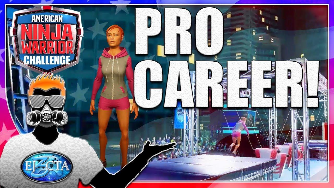Let's Play American Ninja Warrior Challenge |Season 4| - Pro Career