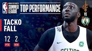 Tacko Fall Scores 12 Points (5-5 FG) In Victory Over Cavs | July 8, 2019