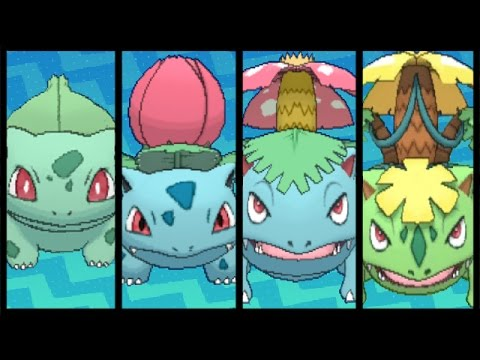 full bulbasaur evolution team youtube
