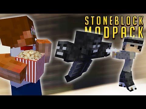 KÄKAR POPCORN & DÖDAR WITHER | StoneBlock Modpack - #38