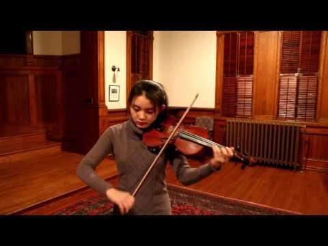G.F. Handel, Bourree - Jennifer Jeon