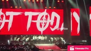BTS - NOT TODAY @ WINGS TOUR IN JAKARTA 170429 ( FANCAM )