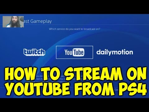 How To Stream On Youtube From PS4